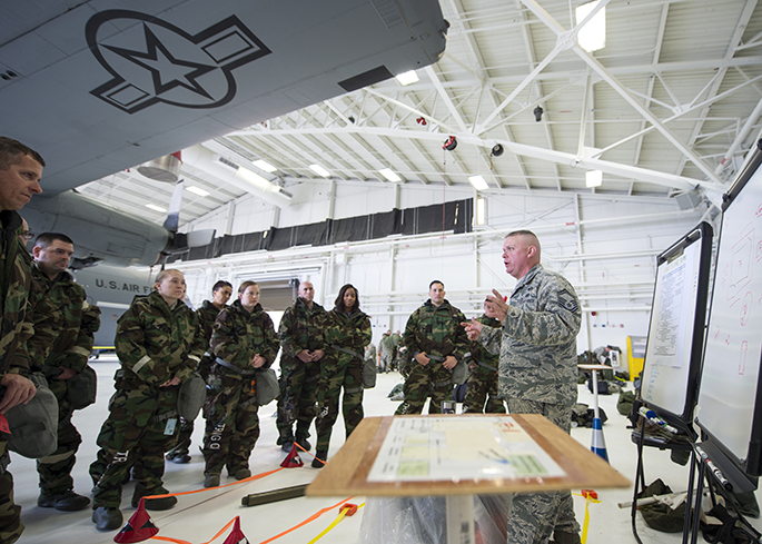Airmen take part in readiness training