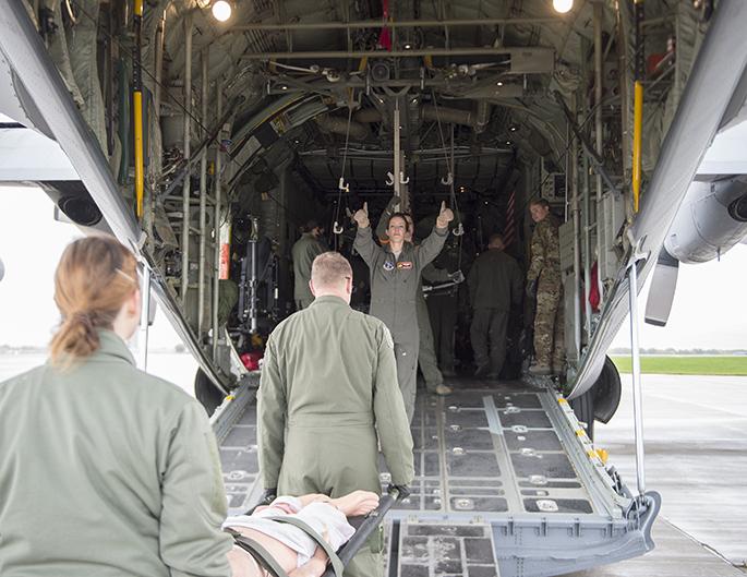 Aeromedical team takes to the sky
