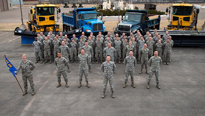 Civil Engineering Squadron Photo